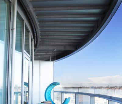 København S - diverse indretning - balkon