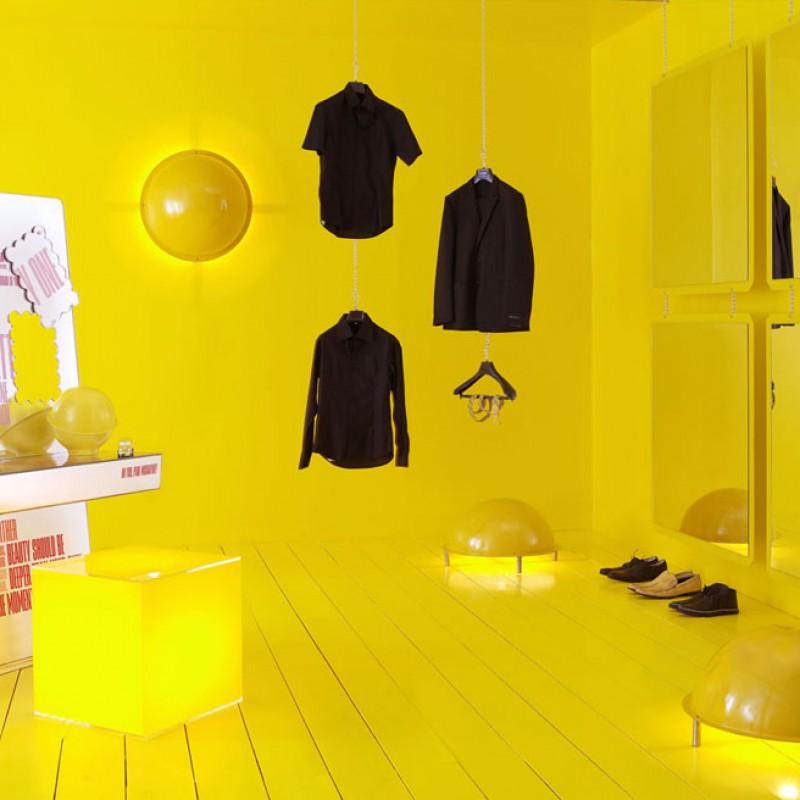 Farvepsykologi - eksempel, gul