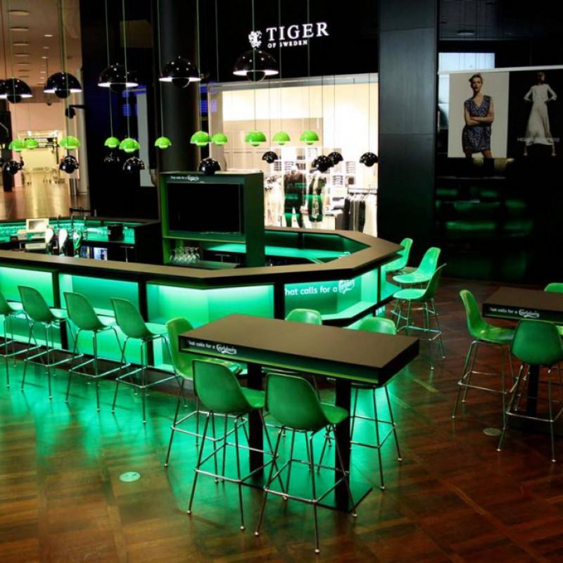 baren fra bagzonen, Carlsberg Bar, Lufthavnen, Kastrup