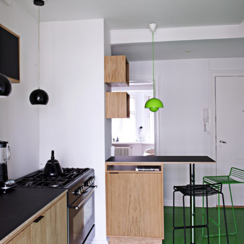 Nørrebro – køkken & entre >>