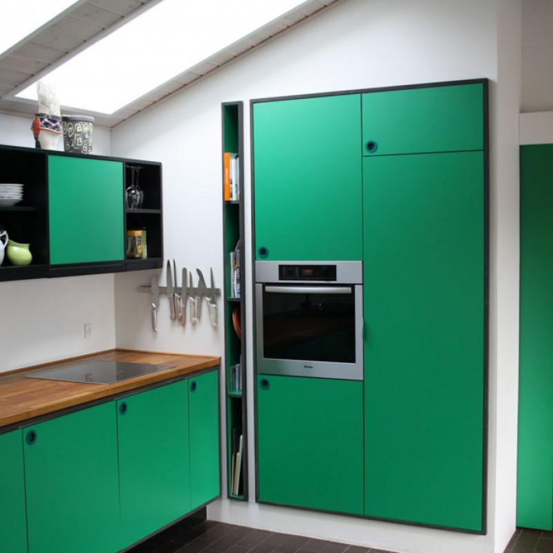 Holte - grønt køkken
