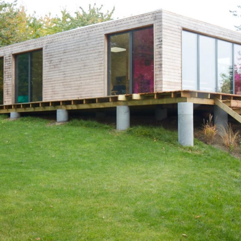 Vejby - case study, total - hovedbygning