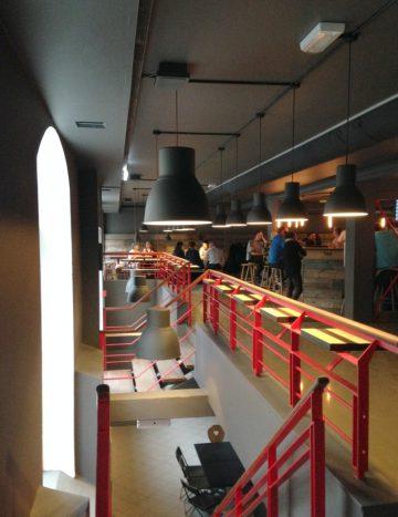 øvre niveau, Taphouse Ølbar, København