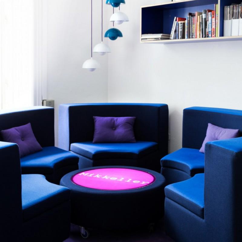 Multifunc Round sofa, Mikkeller HQ