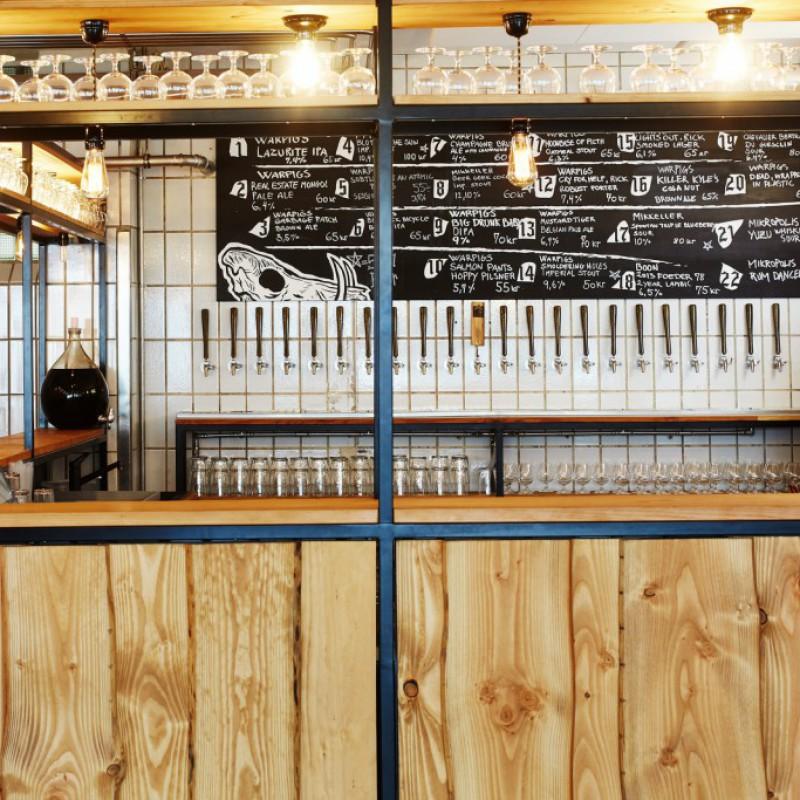 bar, Warpigs Brewpub, Kødbyen, København